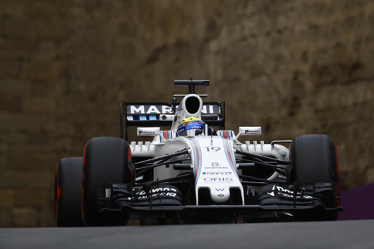 ウィリアムズ F1ヨーロッパGP 速報