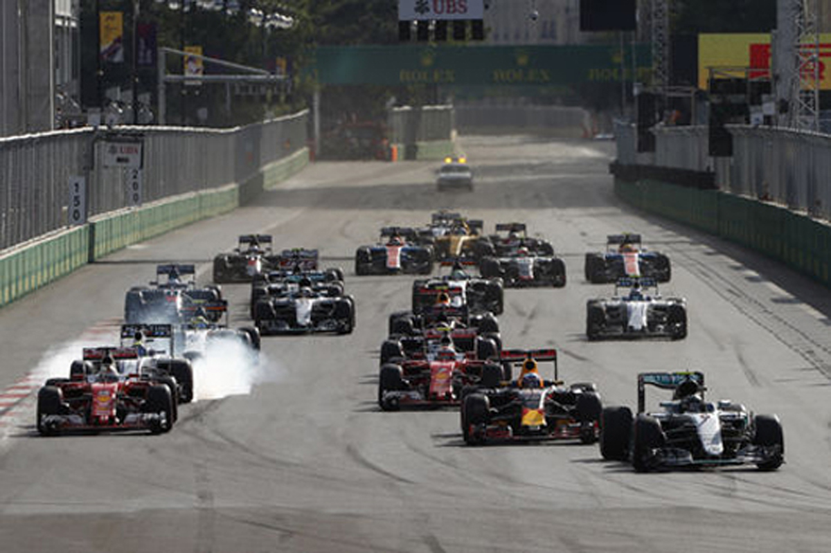F1 2016 ヨーロッパGP 結果 速報
