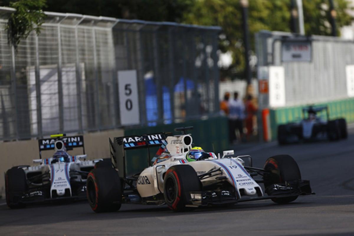 ウィリアムズ F1 2016 ヨーロッパGP 結果