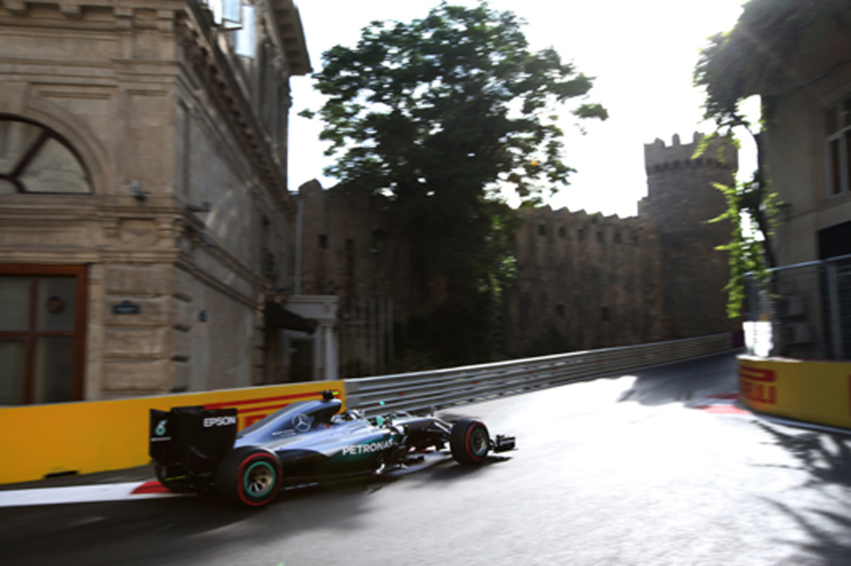 F1 バクー