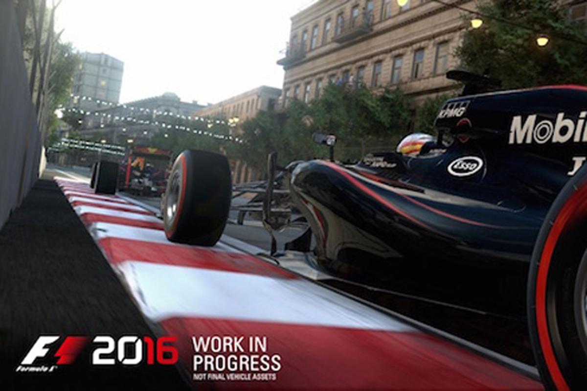 F1 2016 発売日 9月8日
