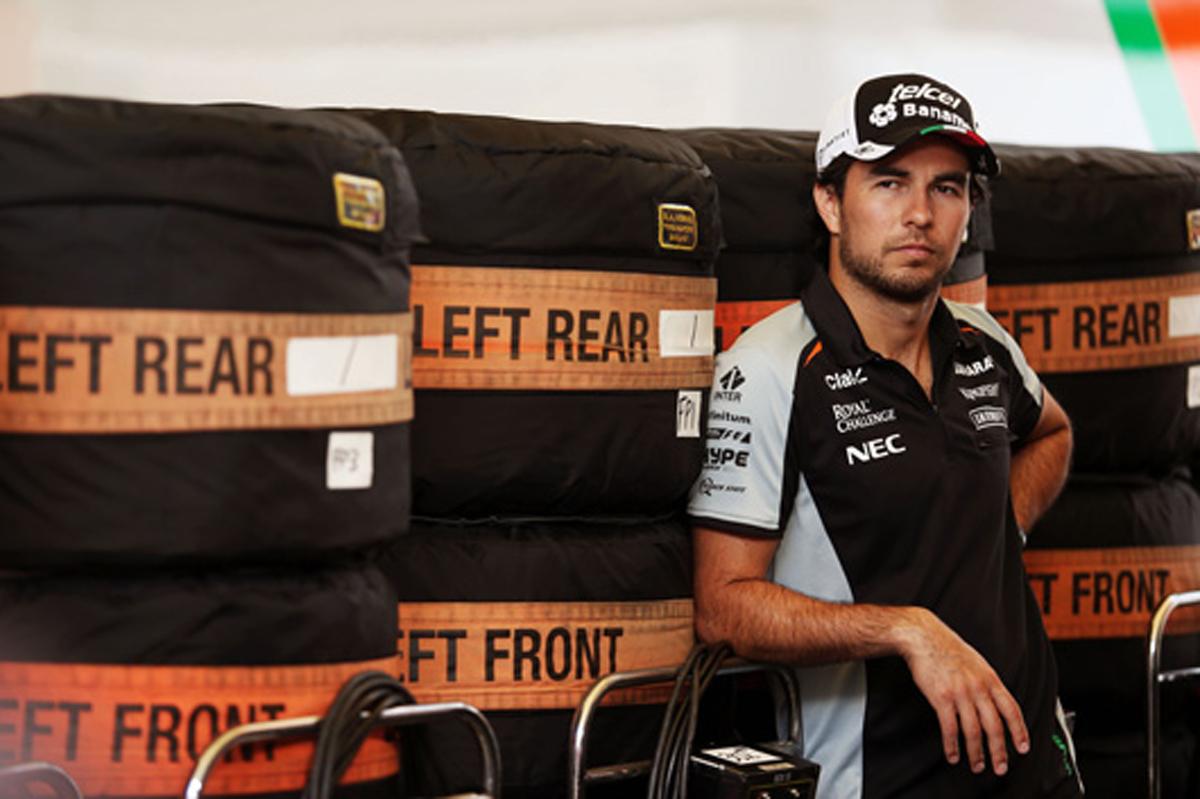 セルジオ・ペレス F1 2016 イギリスGP