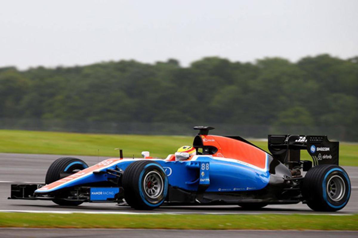 リオ・ハリアント F1 シルバーストーンテスト