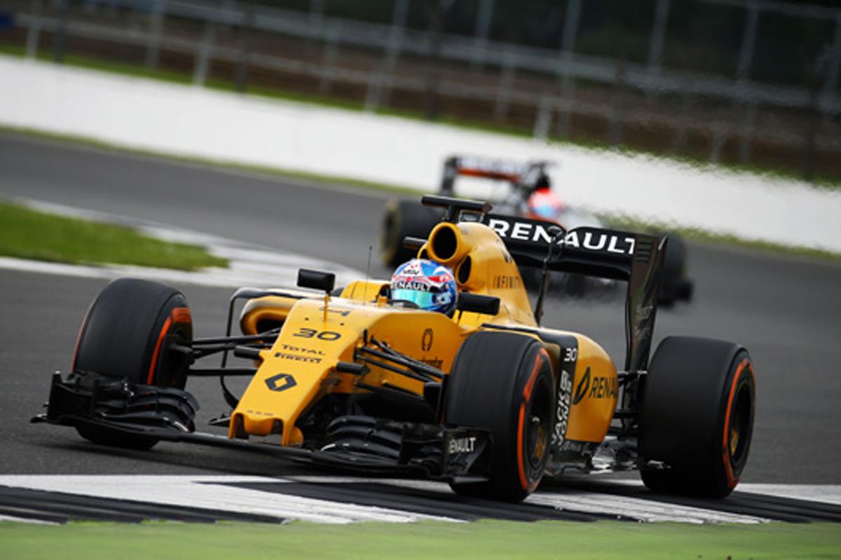 ジョリオン・パーマー F1 シルバーストンテスト
