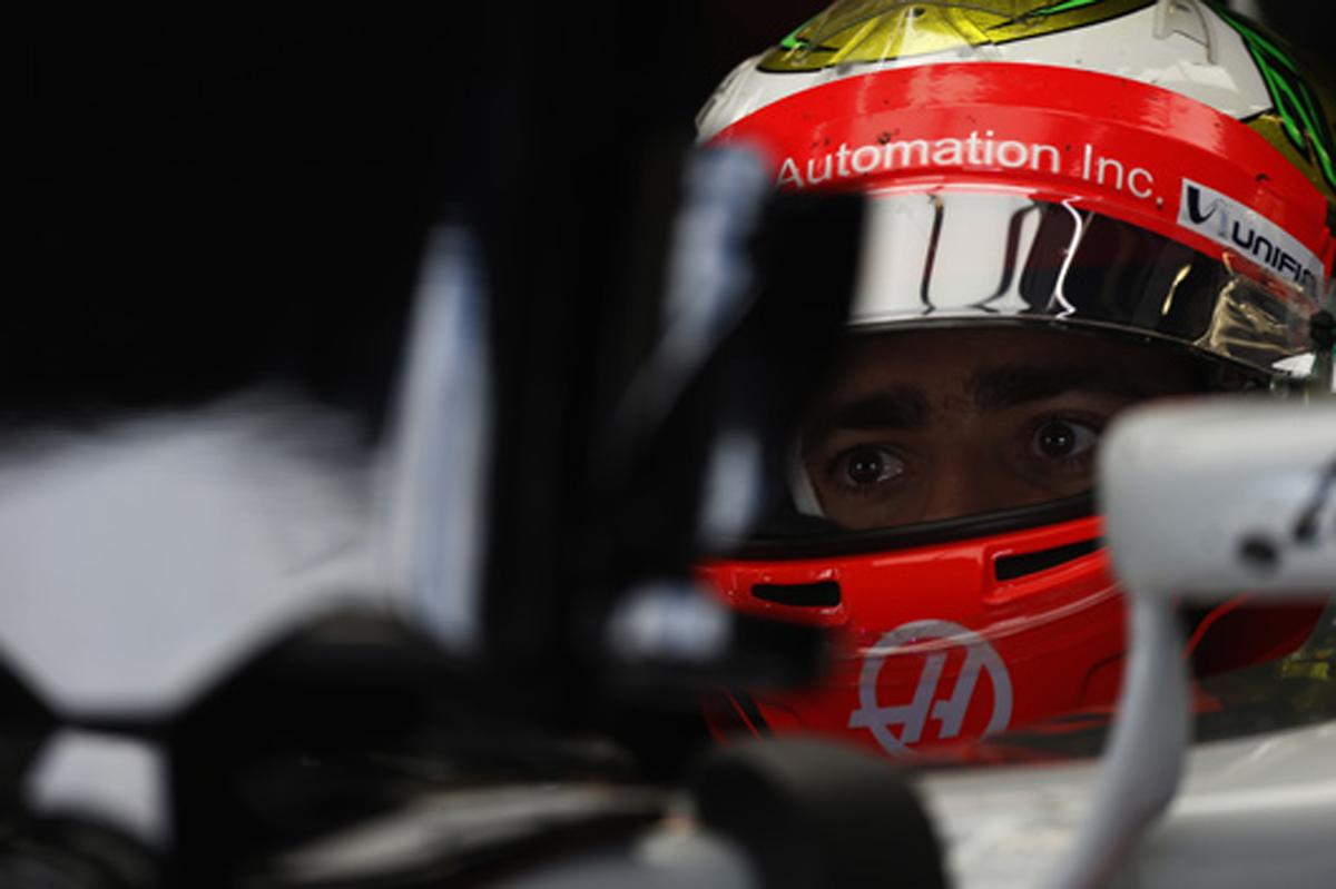 エステバン・グティエレス(ハース) F1 2016 ハンガリー
