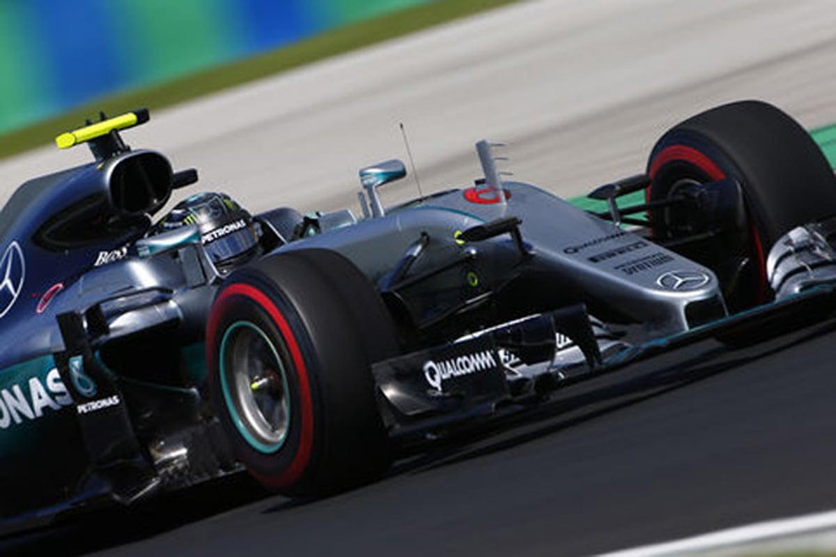 F1 ハンガリー 速報 フリー走行2回目