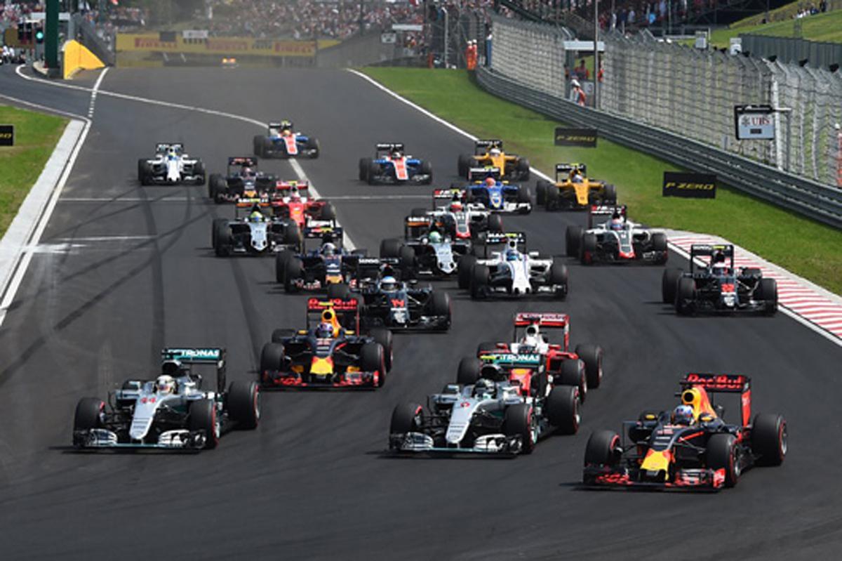F1 速報 ハンガリー 結果