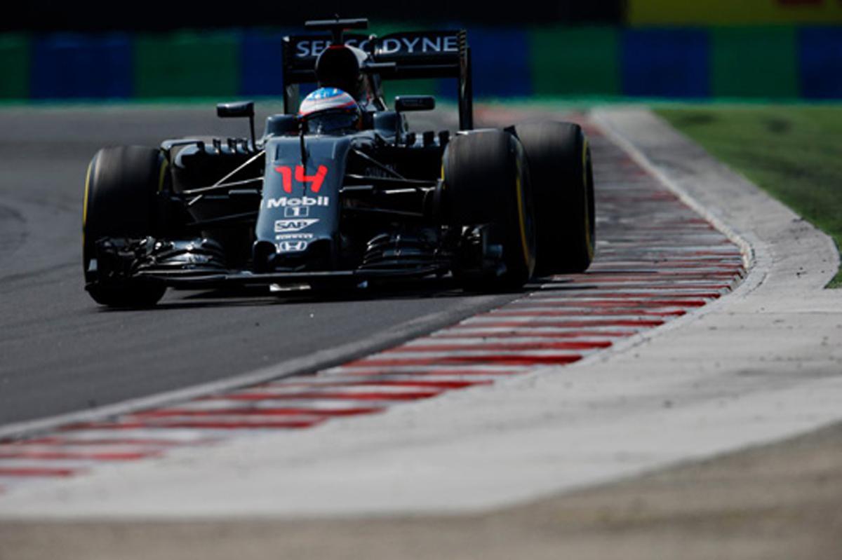 マクラーレン・ホンダ F1ハンガリーGP 結果