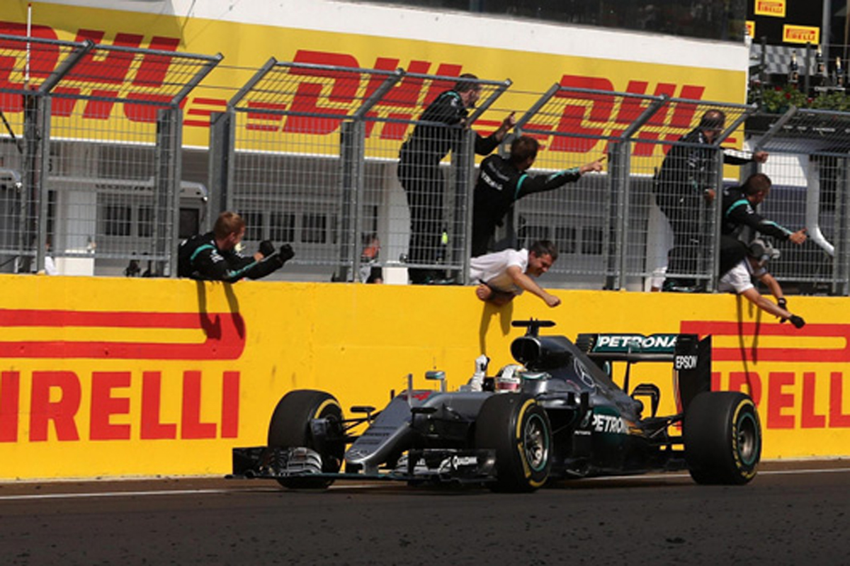 ピレリ F1 2016 ハンガリーグランプリ