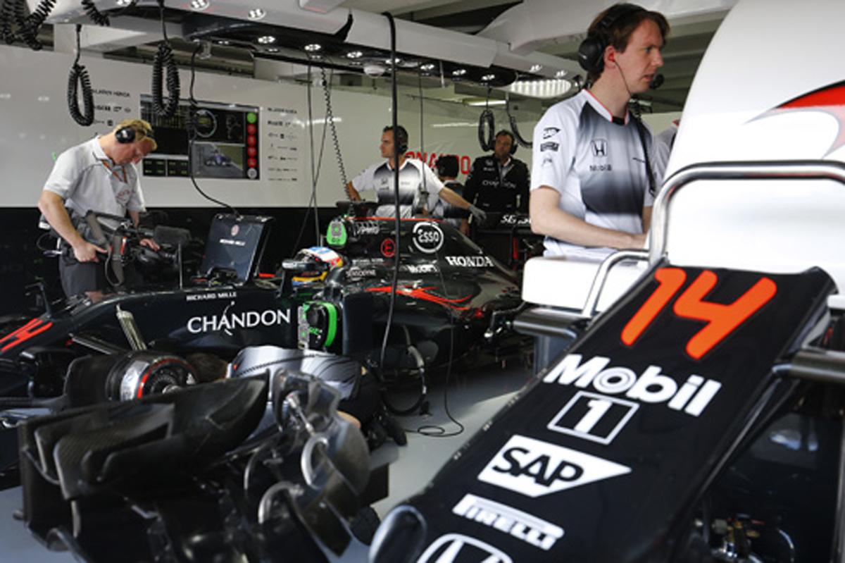 ホンダ F1 2016 ドイツGP 予選