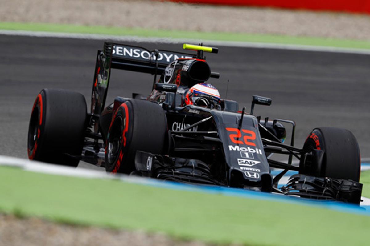マクラーレン F1 2016 ドイツGP 予選
