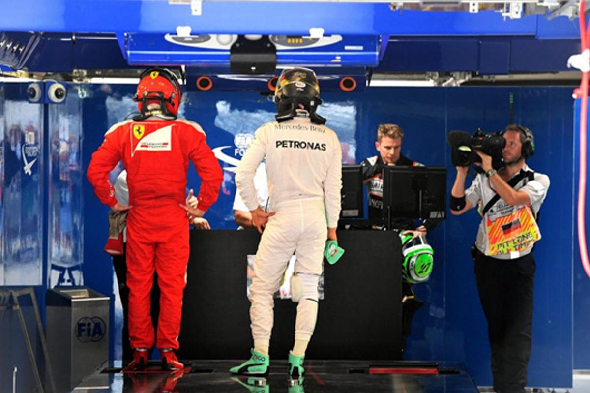 F1 2016 ドイツ スターティンググリッド