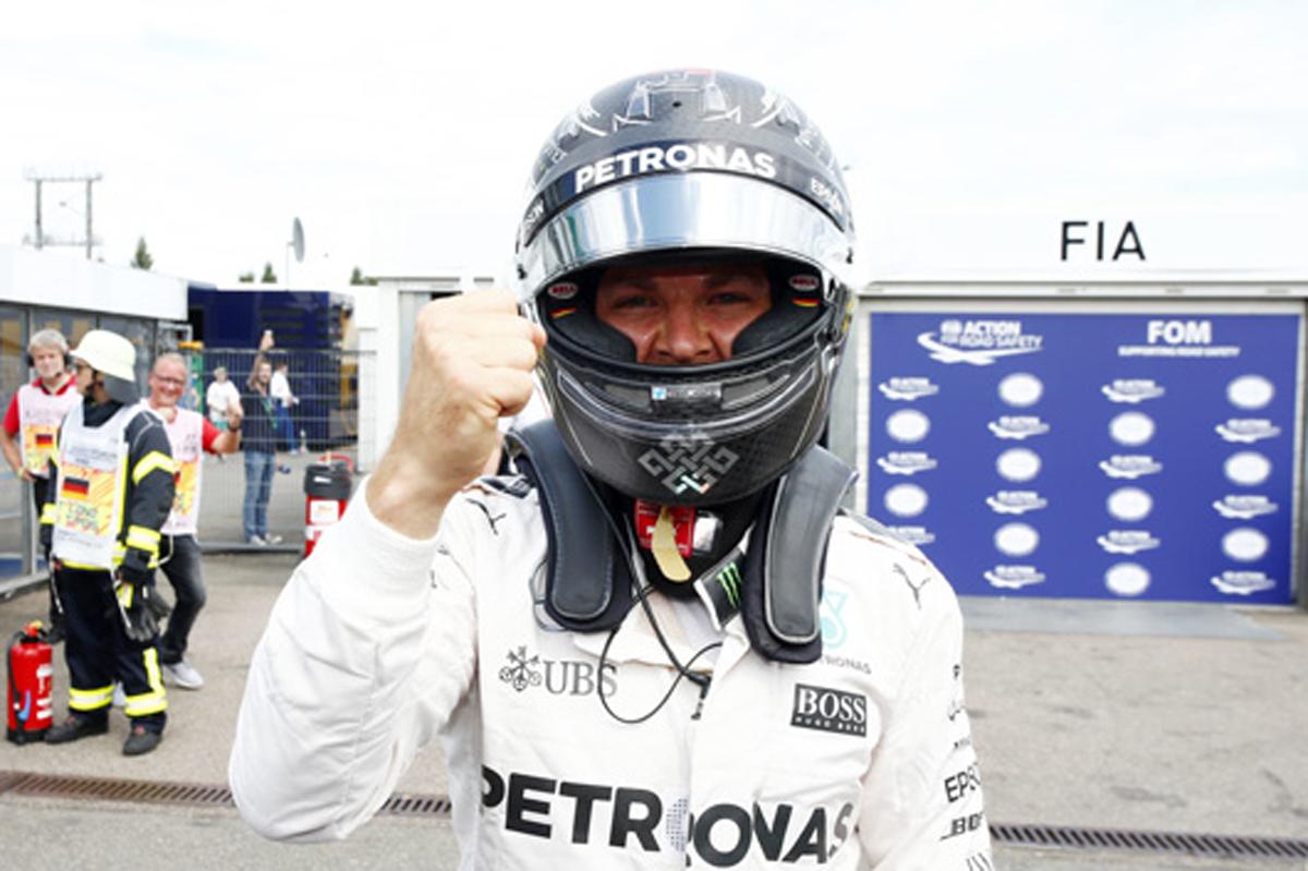 メルセデス F1 2016 ドイツ 予選