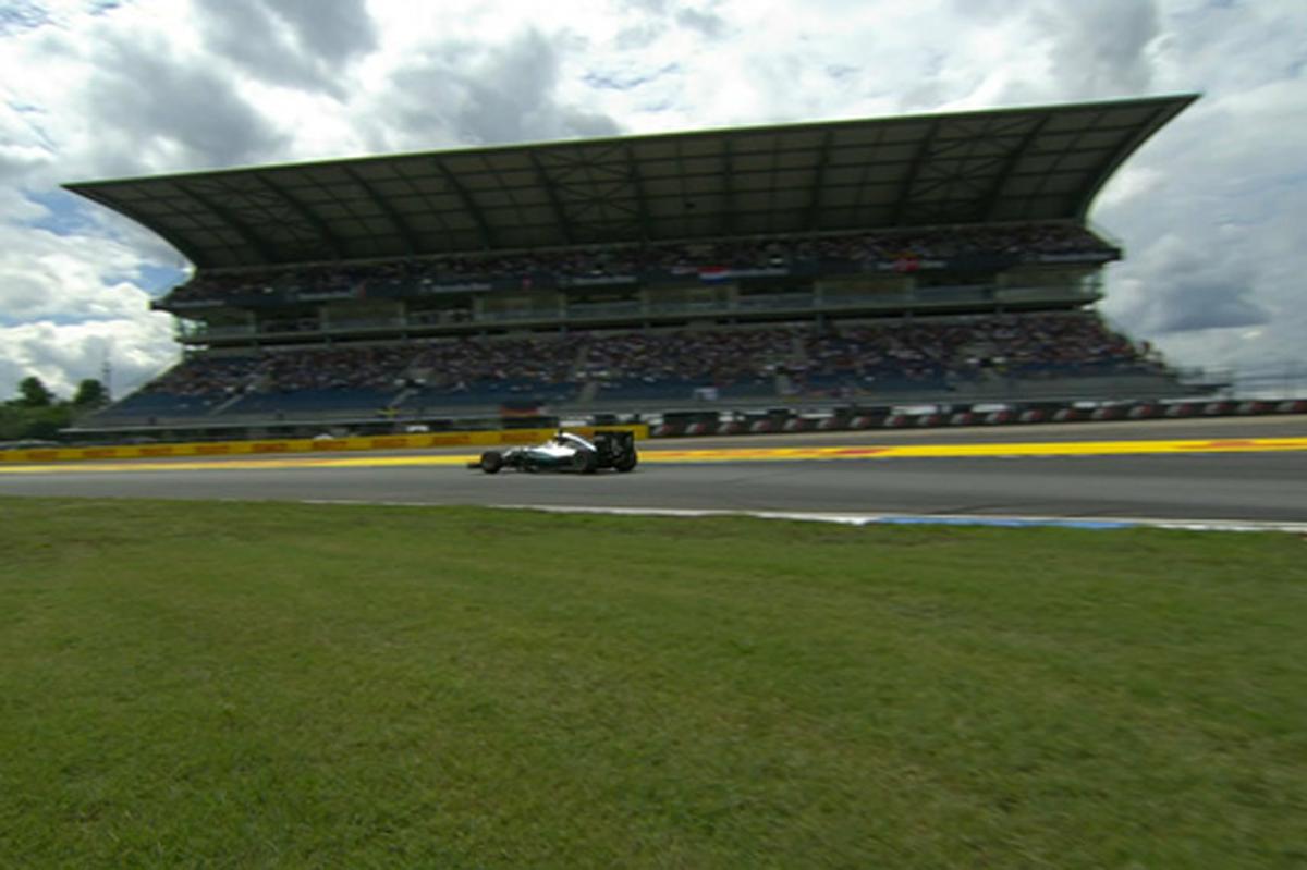 2016 F1 ドイツ 予選 動画