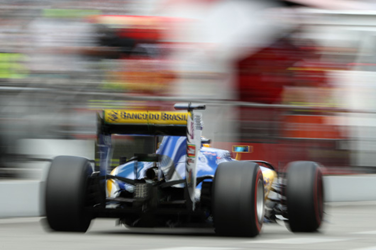 ザウバー F1 2016 ドイツ 予選