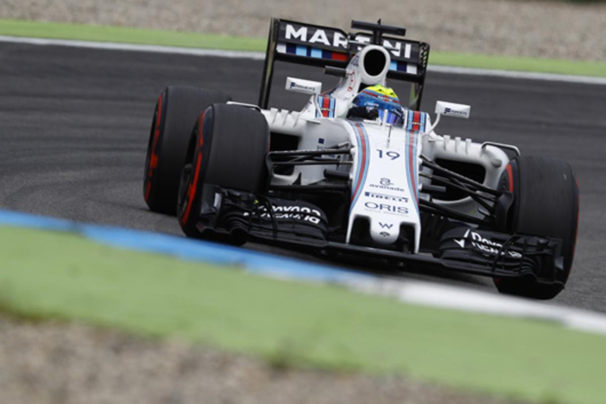 ウィリアムズ F1 2016 ドイツ 予選