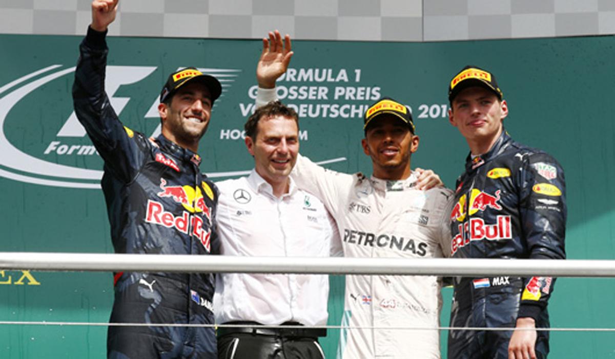 F1 ドイツ 決勝