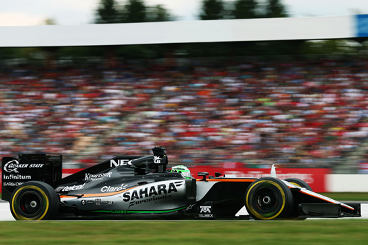 フォース・インディア F1 2016 ドイツ 結果