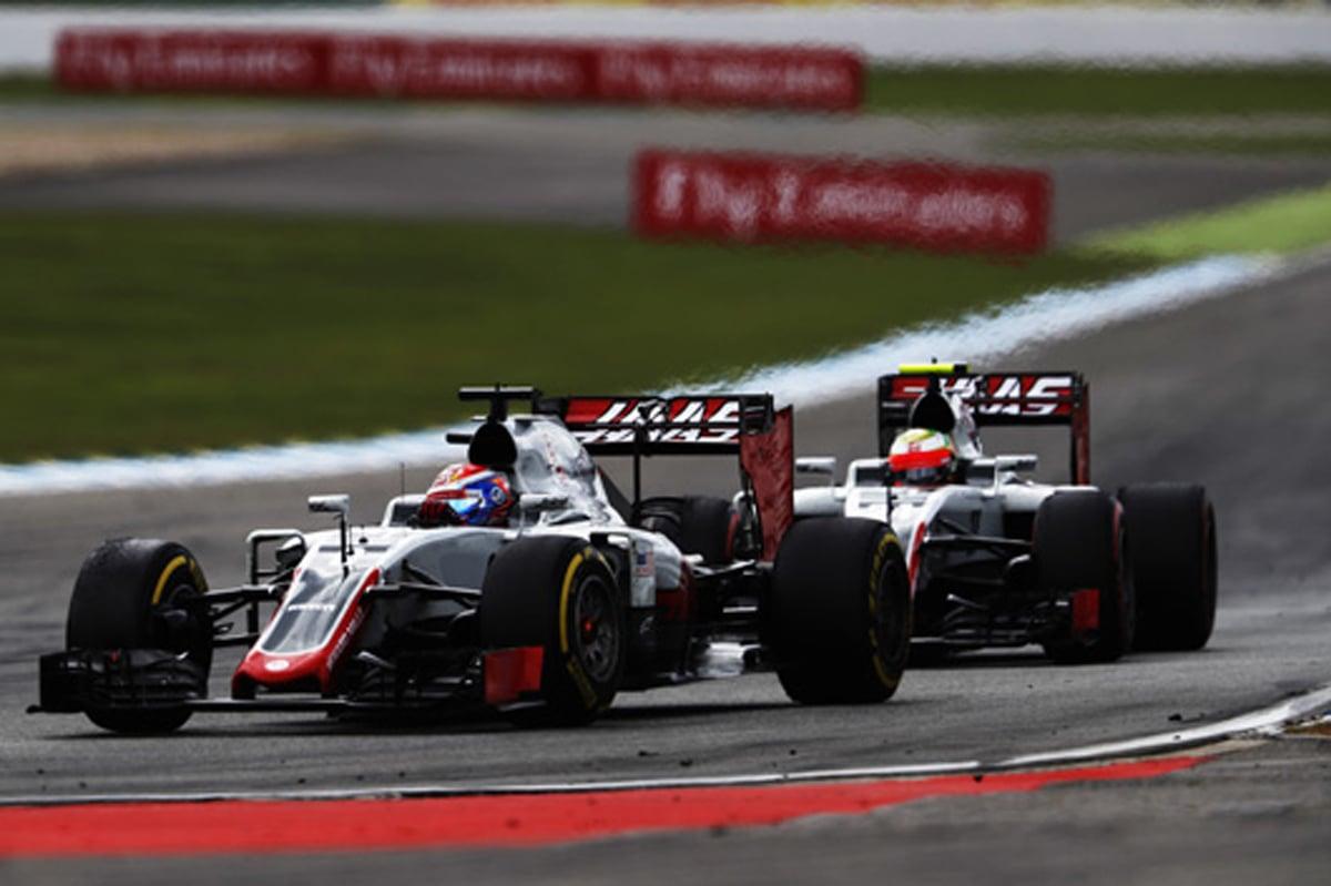 ハース F1 2016 ドイツ 結果
