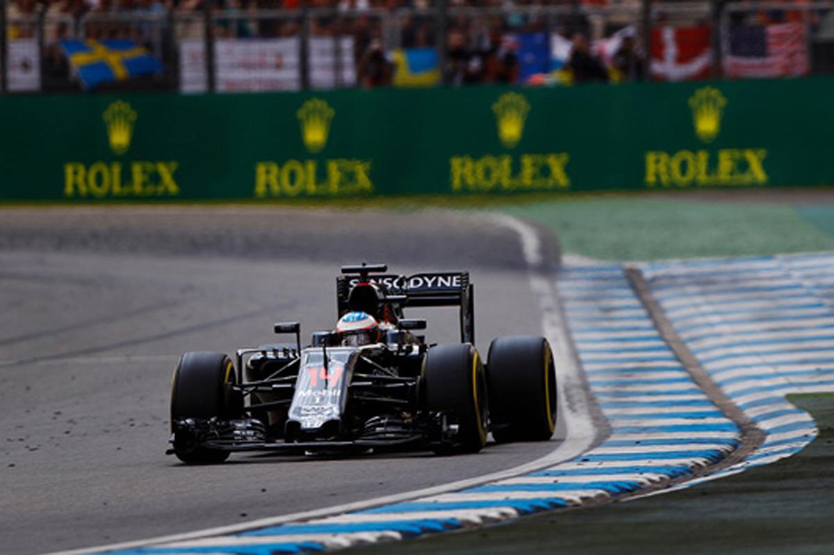 ホンダ F1 2016 ドイツGP 結果