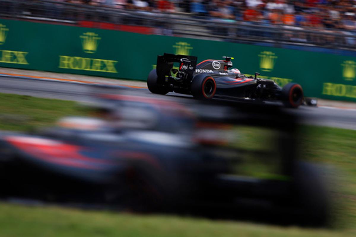 マクラーレン・ホンダ F1 2016 ドイツ 結果