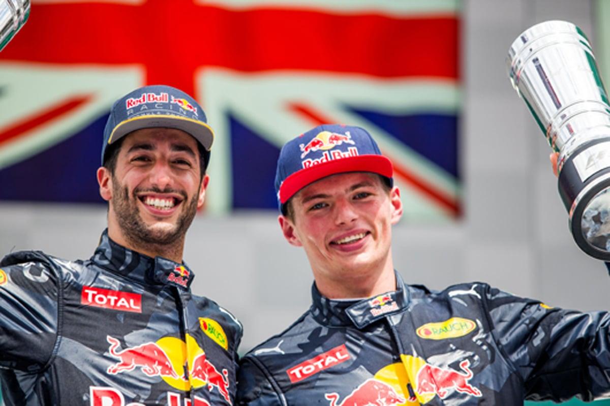 レッドブル F1 2016 ドイツ 結果