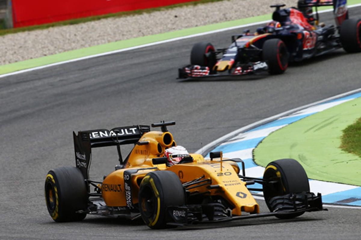 ルノー F1 2016 ドイツ 結果