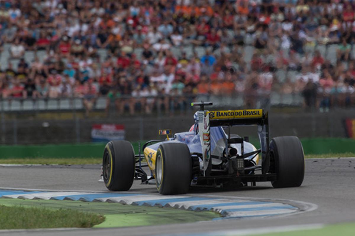 ザウバー F1 2016 ドイツ 結果