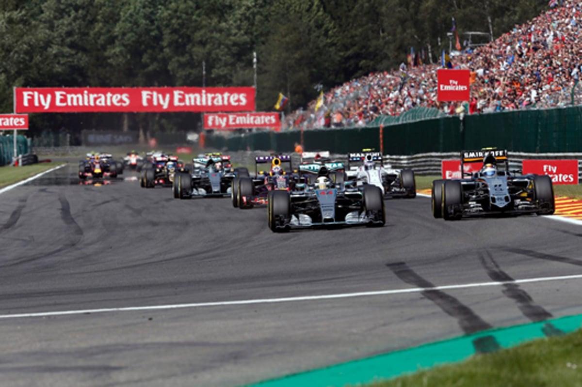 F1 2016 ベルギーGP テレビ放送 スケジュール日程