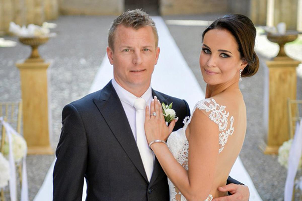 キミ・ライコネン ミントゥ・ビルタネン 結婚式