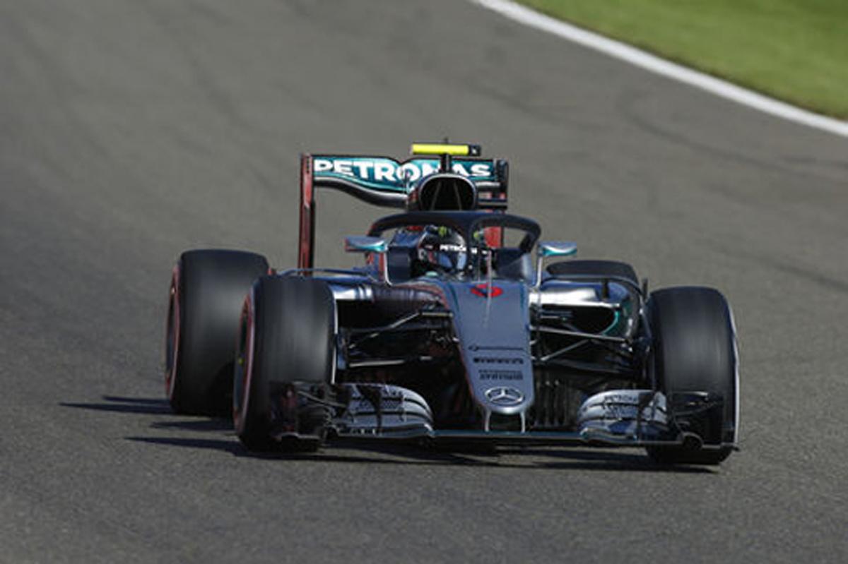 F1 ベルギーGP 速報 フリー走行1回目