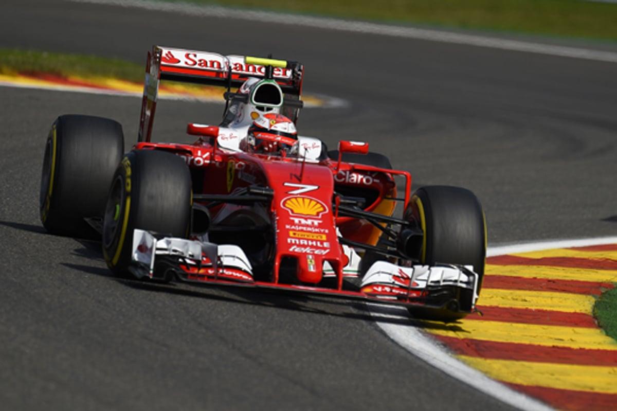 F1ベルギーGP 速報 フリー走行3回目