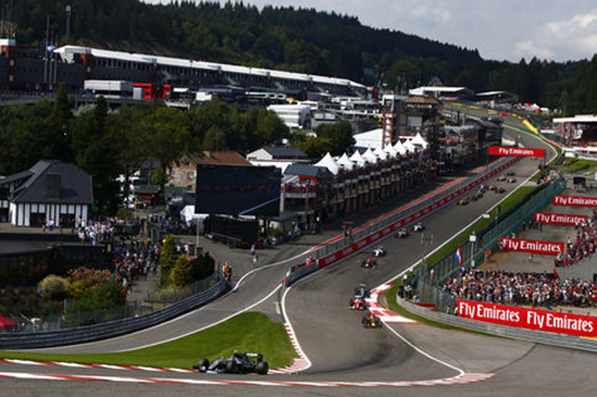 F1 ベルギーGP 結果 速報