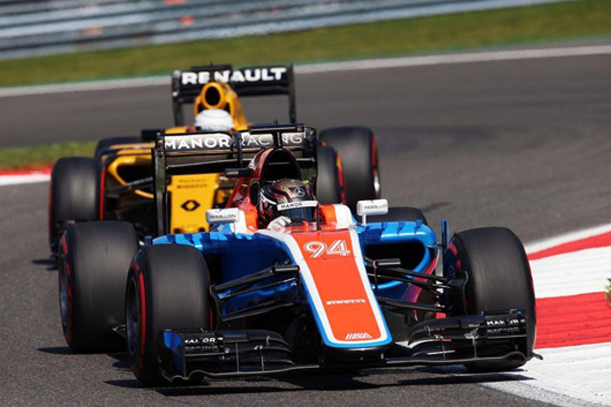 マノー F1 2016 ベルギー 予選