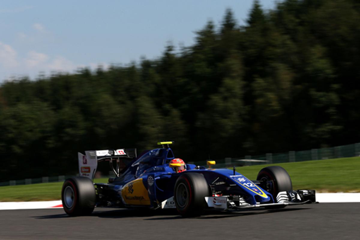 ザウバー F1 2016 ベルギー 予選