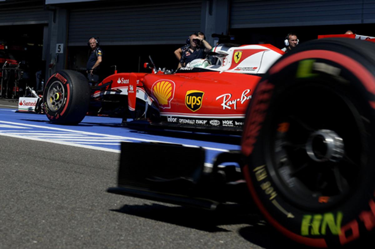 ピレリ F1 2016 イタリアGP