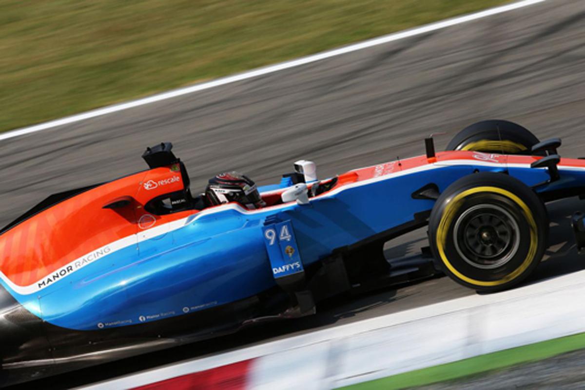 マノー F1 イタリア 速報