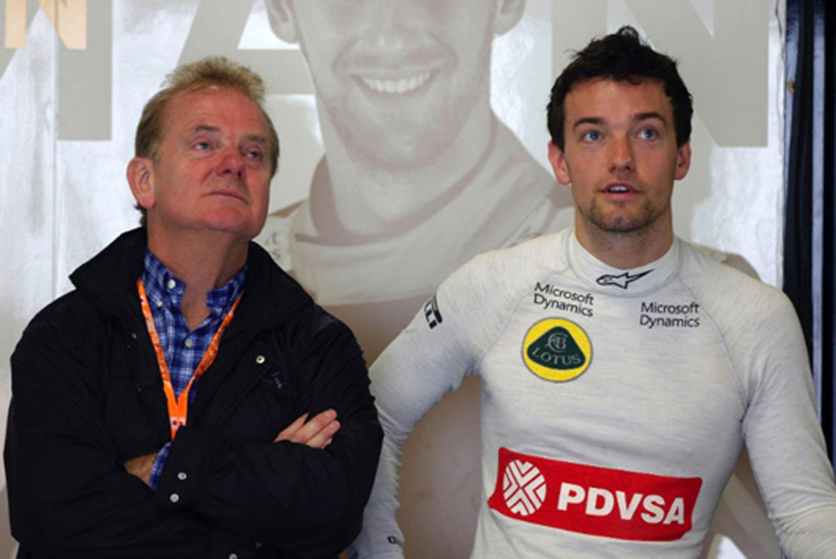 ジョナサン・パーマー F1イギリスGP