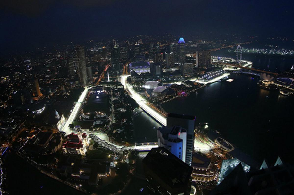 F1 シンガポール 日程 テレビ放送