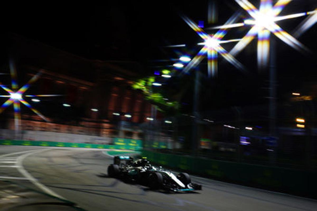 F1 シンガポール 2016 速報
