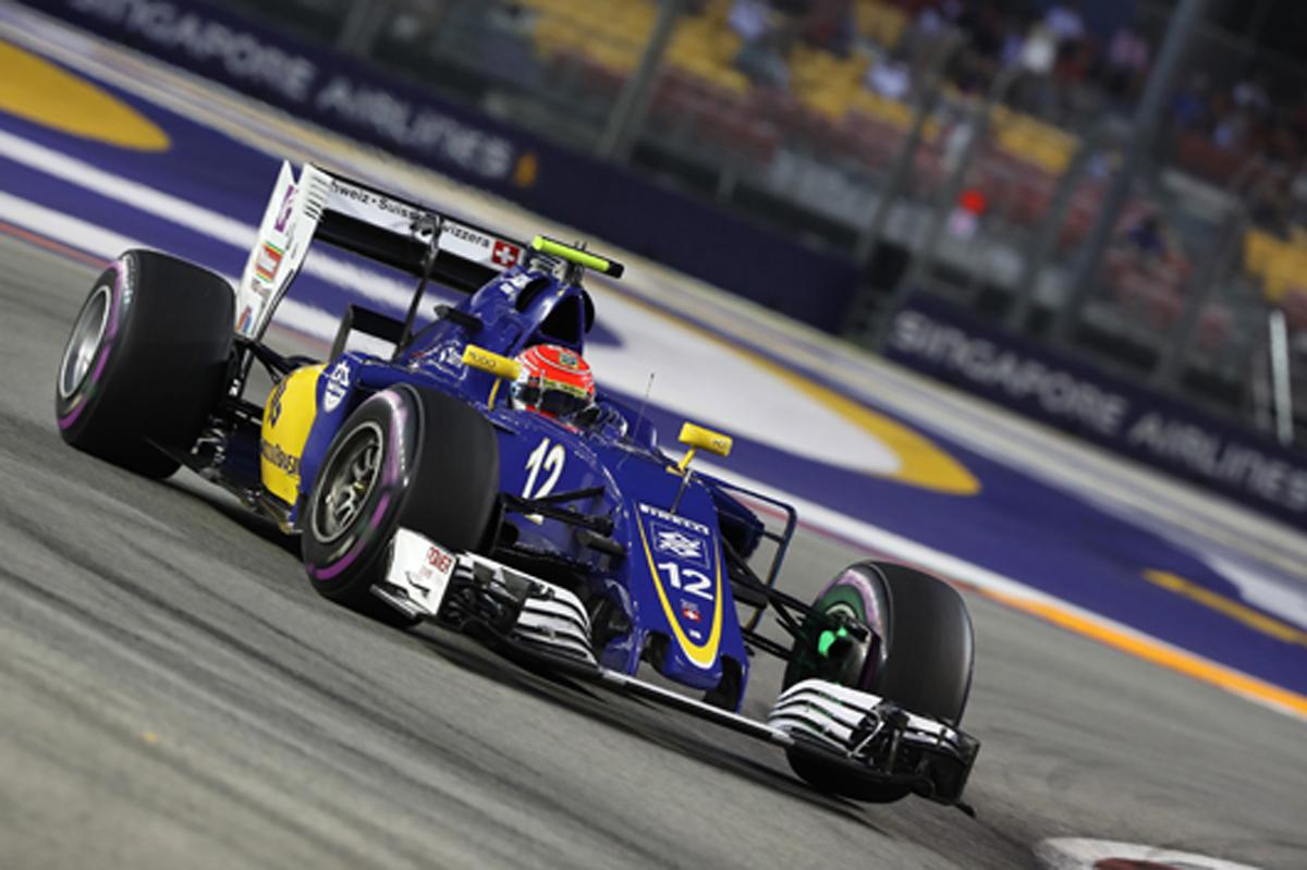 ザウバー F1 シンガポール 2016