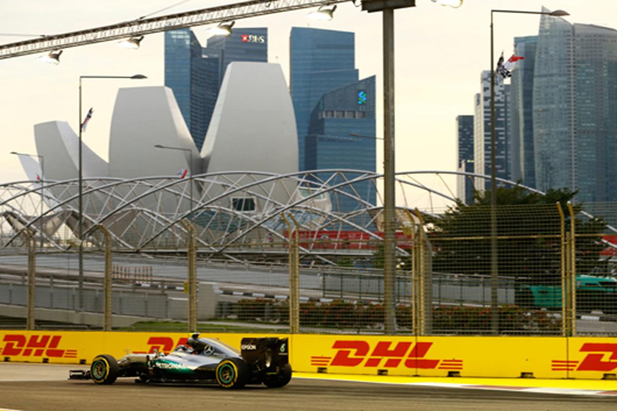 F1 速報 シンガポール フリー走行3回目 結果
