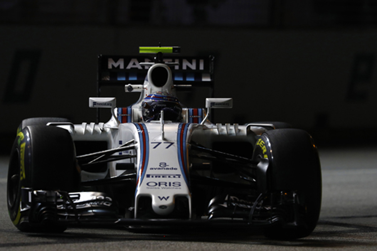 ウィリアムズ F1 シンガポール 2016