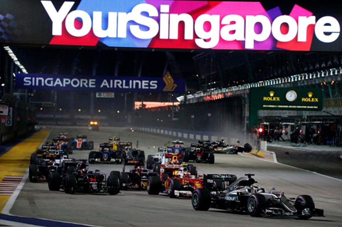 F1 速報 シンガポール 結果