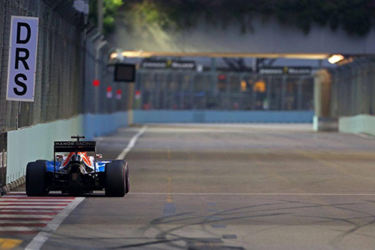 マノー F1 シンガポール 予選