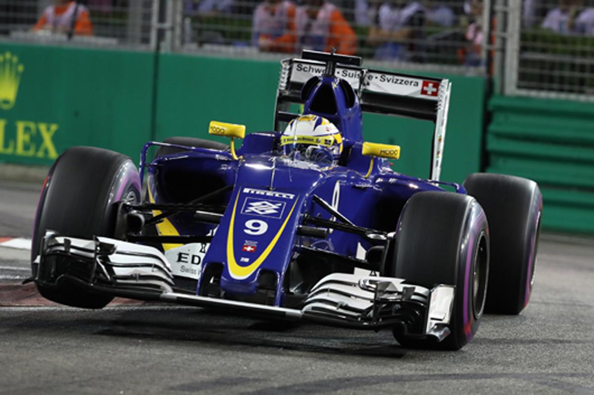 ザウバー F1 シンガポール 予選
