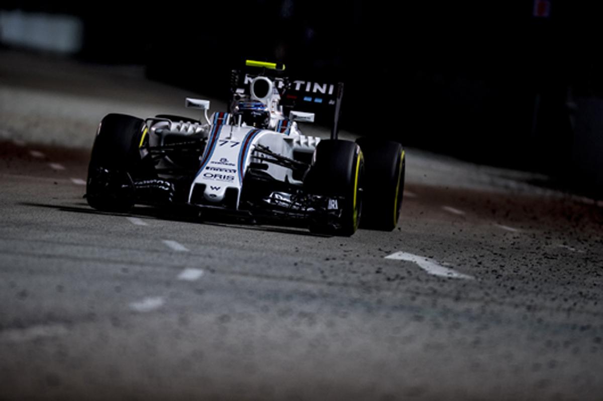ウィリアムズ F1 シンガポール 予選