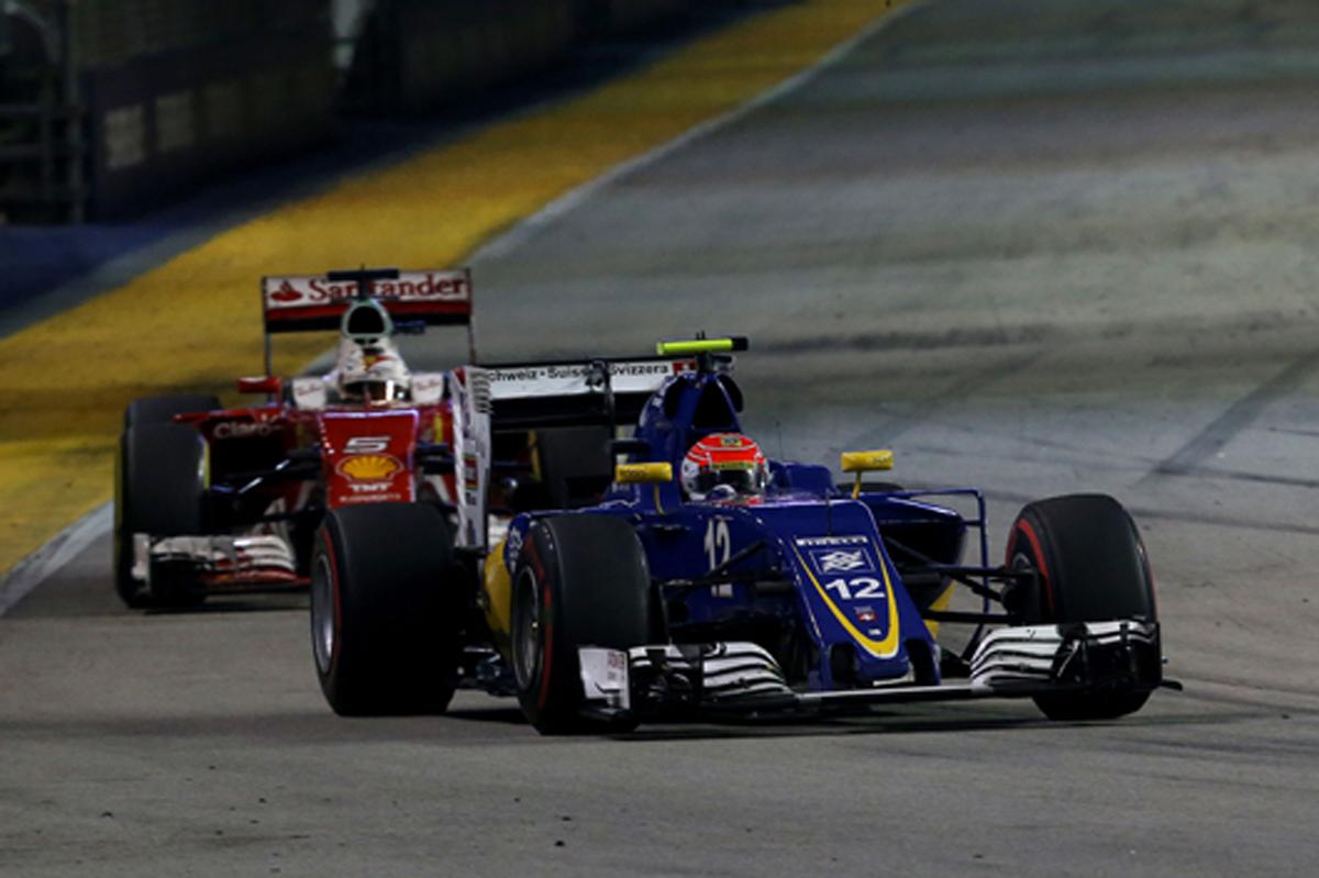 ザウバー F1シンガポール 結果