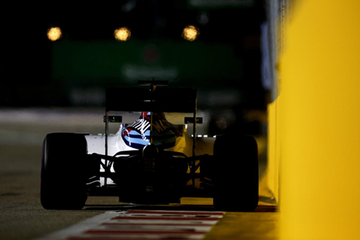 ウィリアムズ F1 シンガポール 結果