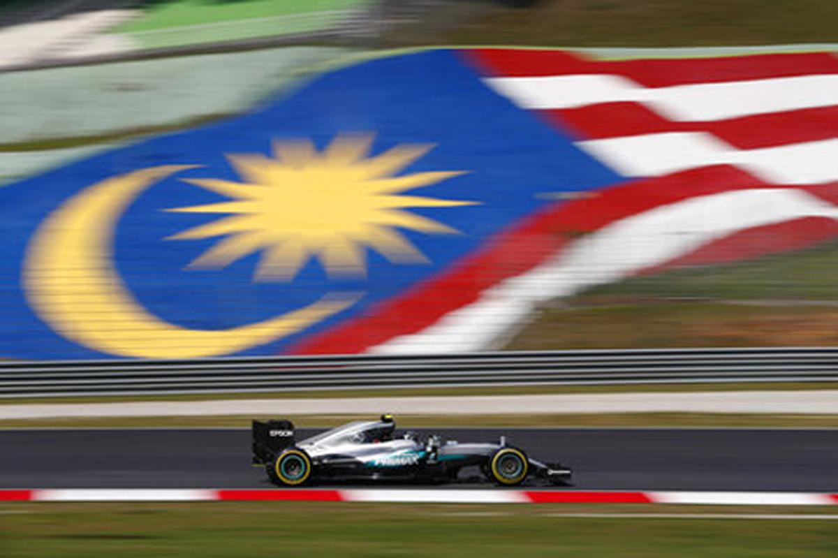 F1 マレーシアGP 速報 フリー走行1回目